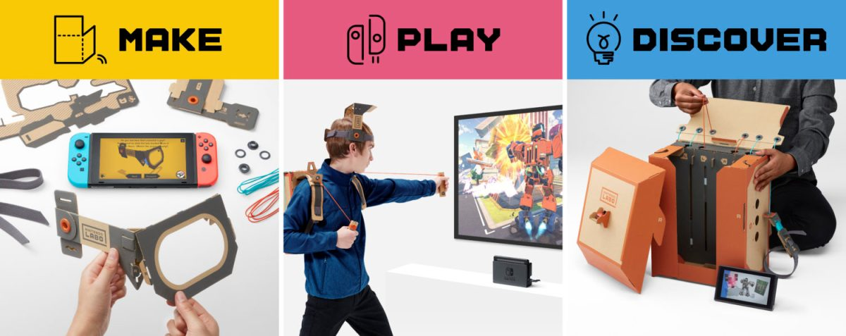 German Ratings Board Mistakens Nintendo Labo As Rubbish, Nearly Threw It Out
