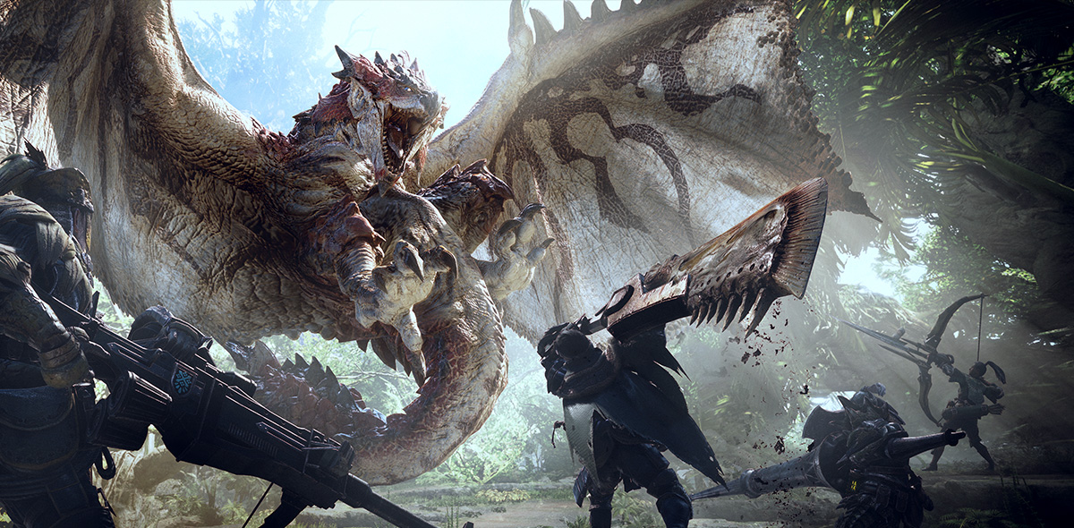 Capcom Has No Plans To Bring Monster Hunter World To Switch