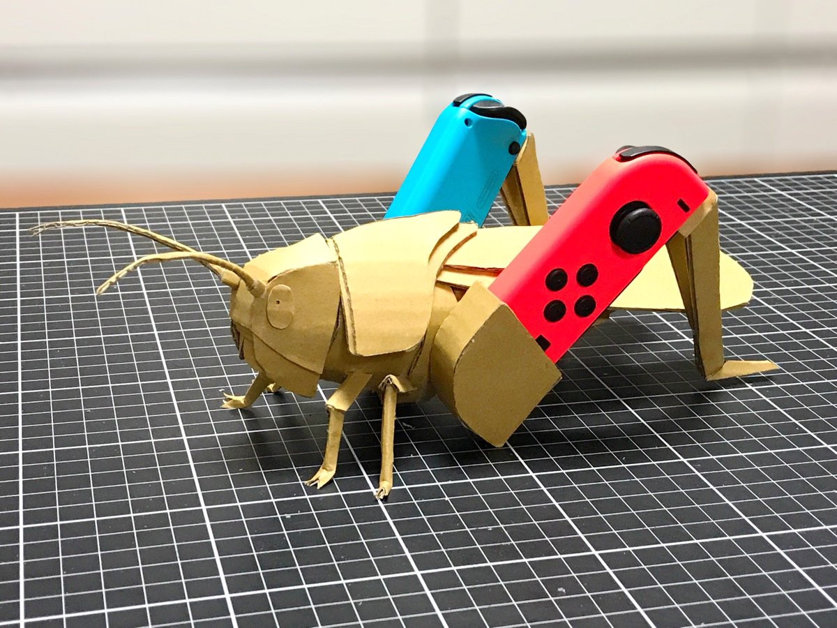 Japanese Inventor Designs His Own Nintendo Labo Inspired Creations