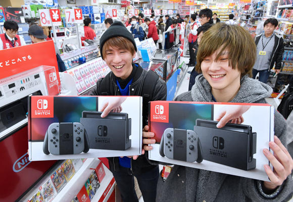 Nintendo Switch Selling 3 Times Faster Than PS4 In Japan