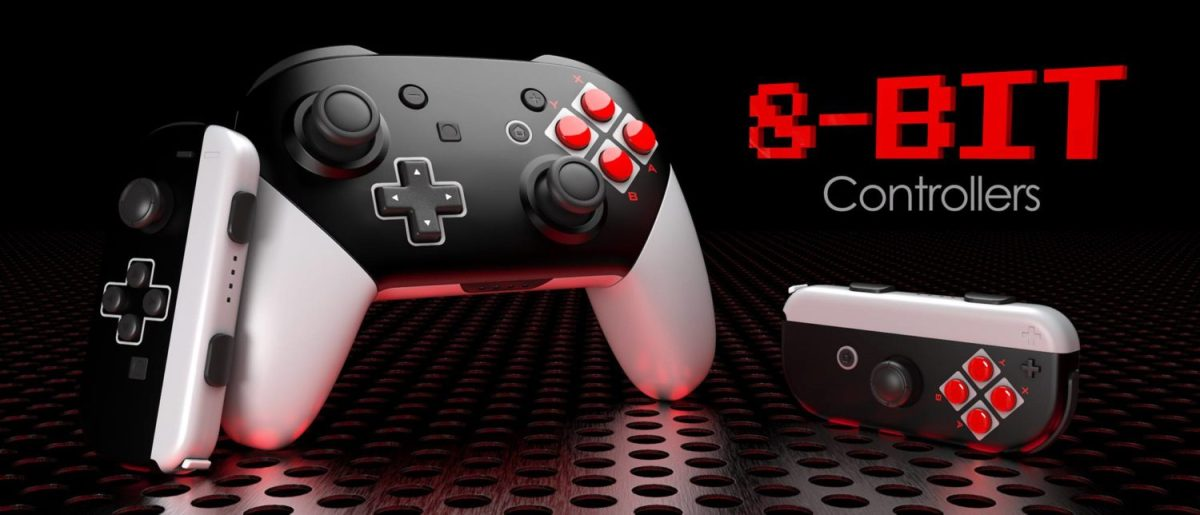 These NES Style Switch Controllers Look Hot