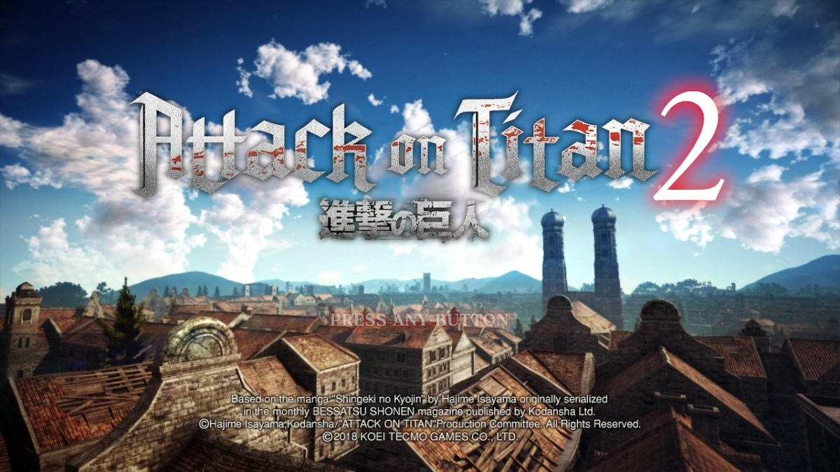Game Review: Attack On Titan 2 (Switch)
