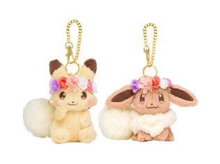 Pikachu and Eevee's Easter Mascot