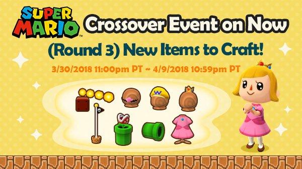 Animal Crossing Pocket Camp, Super Mario Furniture Animal Crossing