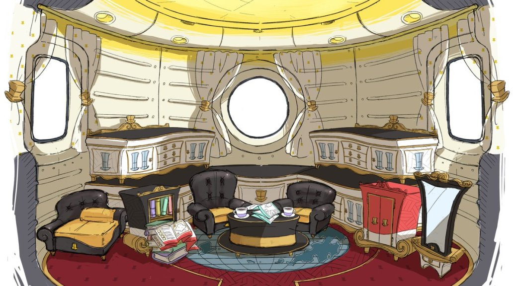 interior super mario odyssey ship