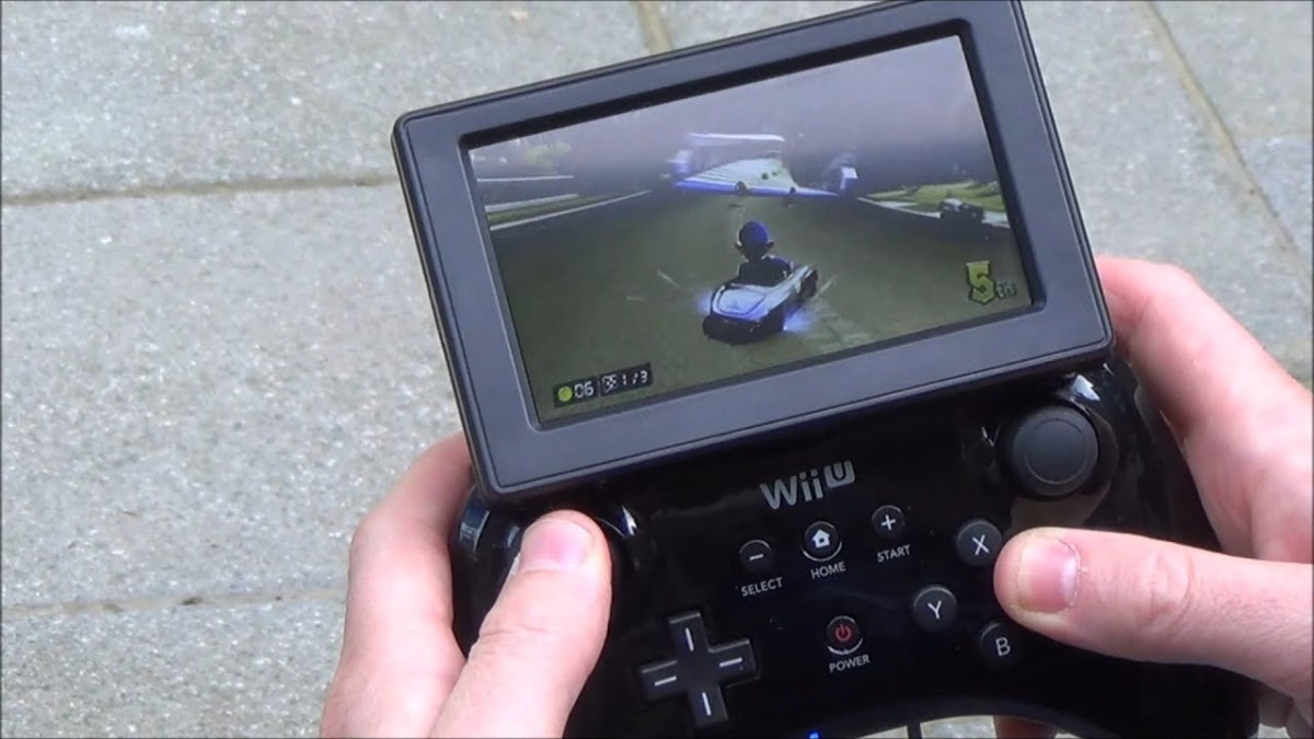 Wii U Turns Into Gaming Coat