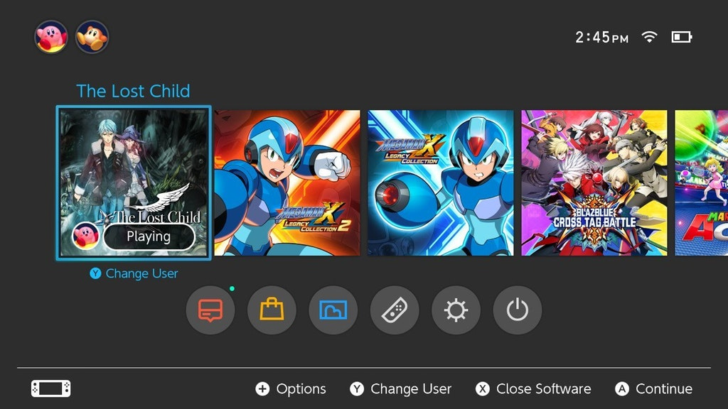 How Mega Man X Legacy Collection 1 And 2s Icons Look Like On Switch NintendoSoup