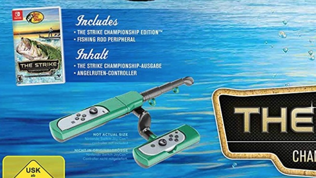 Bass Pro Shops The Strike Announced For Switch Comes With Fishing Rod Nintendosoup