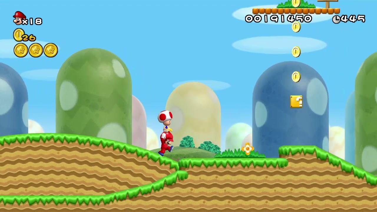 Here S New Super Mario Bros Wii S Control Scheme On Nvidia Shield