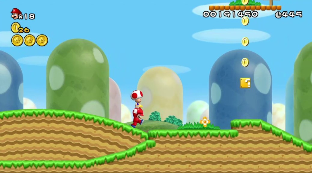 Here S New Super Mario Bros Wii S Control Scheme On Nvidia Shield