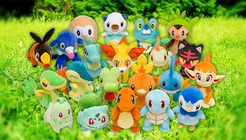 d27d52bd Every Pokemon Starter Is Getting A Plush Doll At Pokemon Center