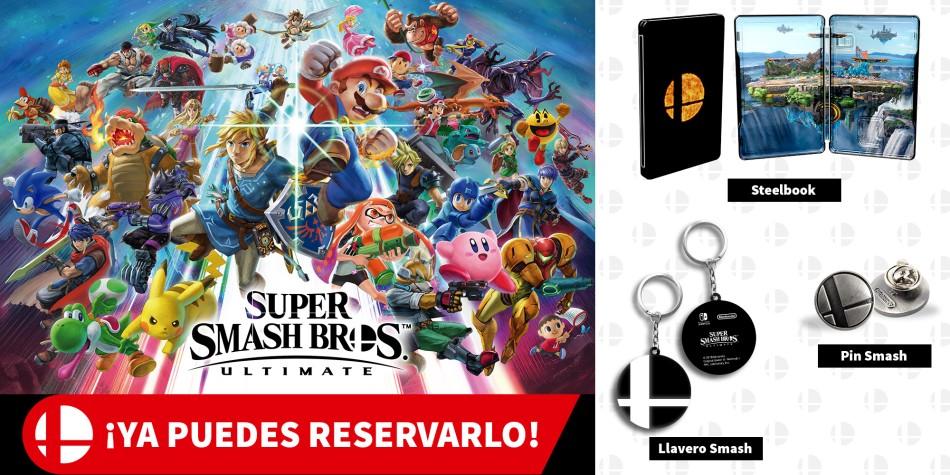 Spain All Super Smash Bros Ultimate Retailer Pre Order