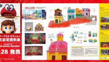 Japan: The Art Of Super Mario Odyssey Launches September 28