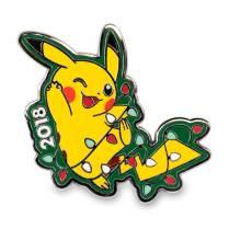 Pikachu Holiday Tangled Light Pikachu Pin and Greeting Card - Product 2