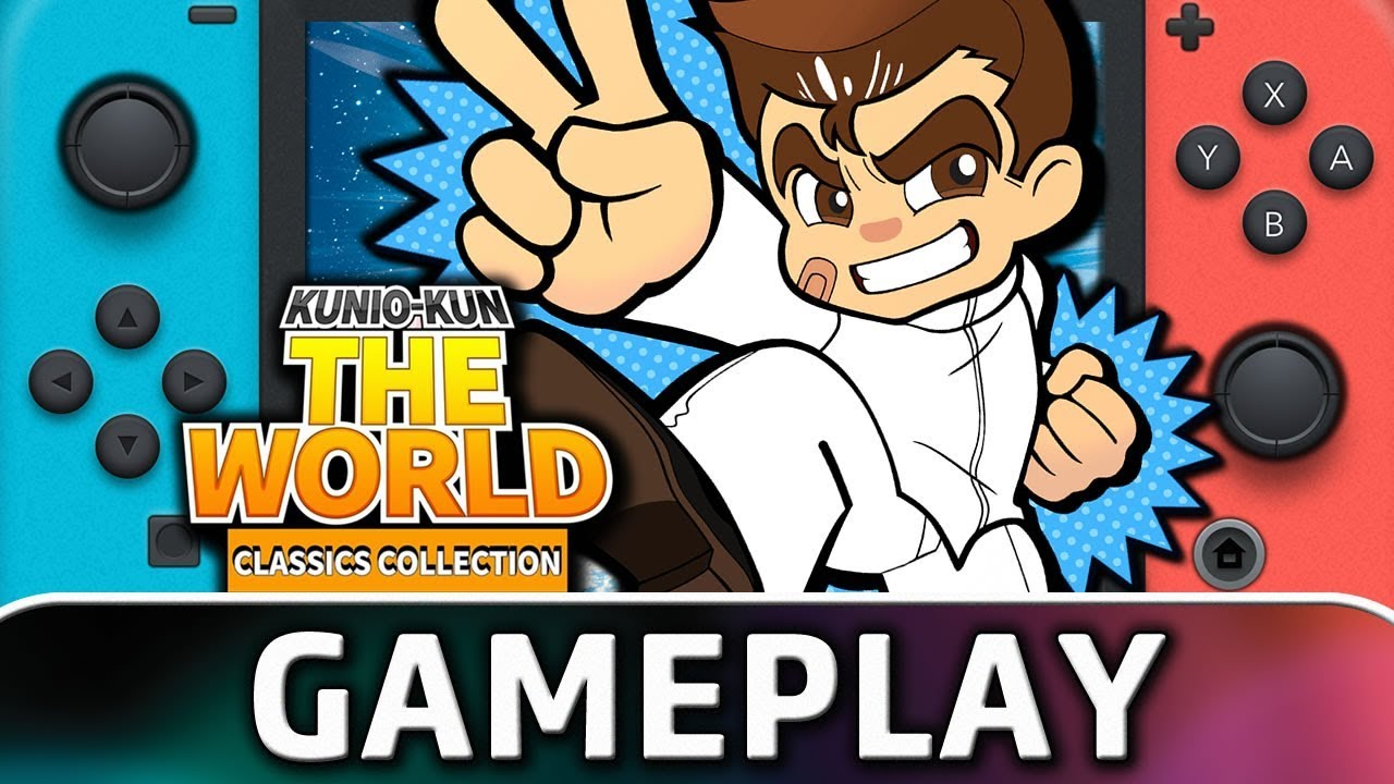 Here S 30 Minutes Of Kunio Kun The World Classics Collection On Switch Nintendosoup