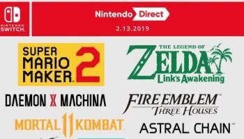 Nintendo Advertises February 13 Nintendo Direct On Youtube