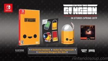 Enter The Gungeon Merchandise Now On Sale | NintendoSoup