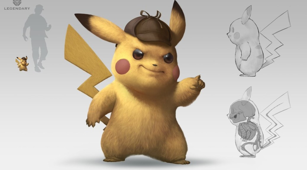 Realistic Pokemon Artist Shares Concept Art He Made For Detective