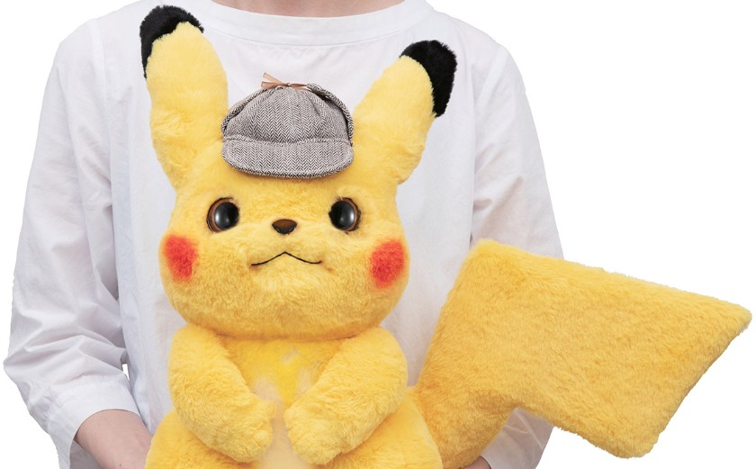 This Life Size Detective Pikachu Doll Is The Most Realistic And