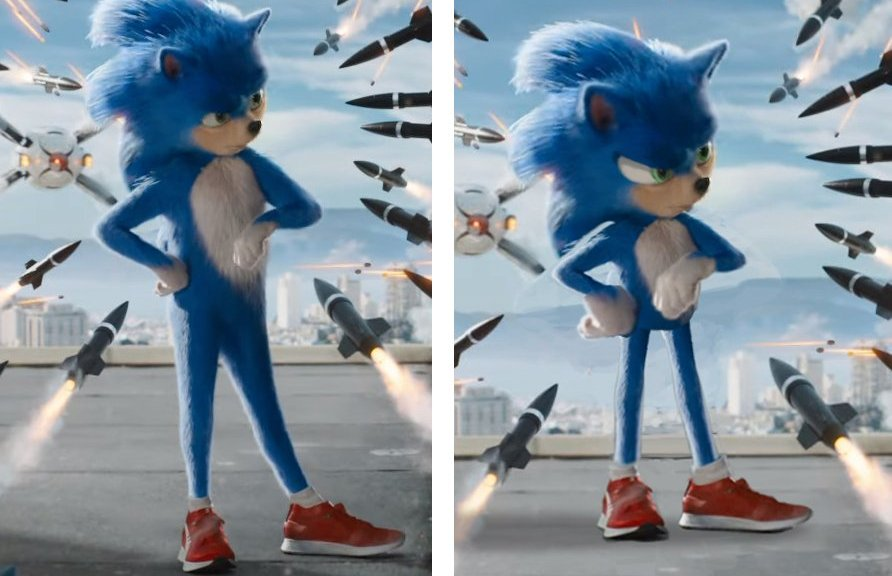 Fans Are Now Also Editing Sonic S Design From The Latest Movie Trailer Nintendosoup