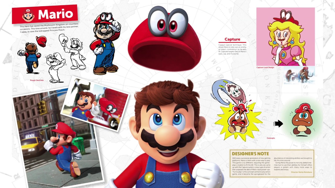 Super Mario Odyssey Art Director Character Art Lead On The