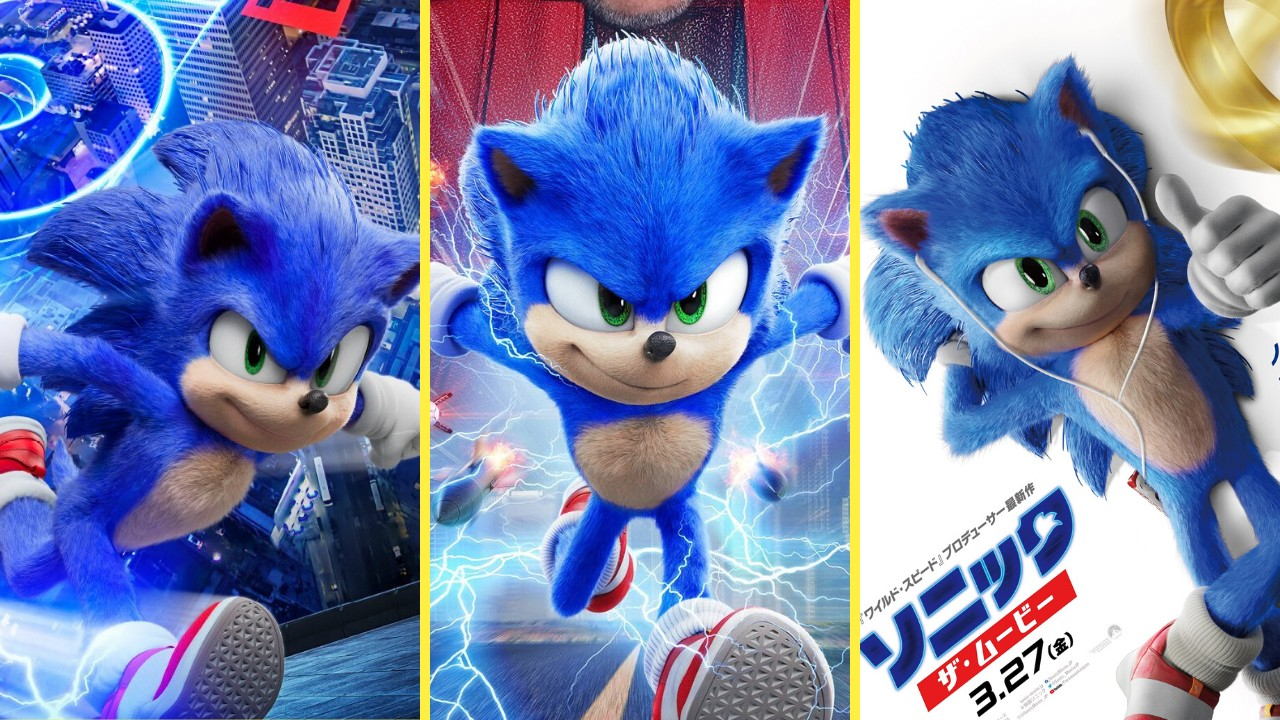 New English And Japanese Posters Revealed For Sonic The Hedgehog Movie Update Nintendosoup