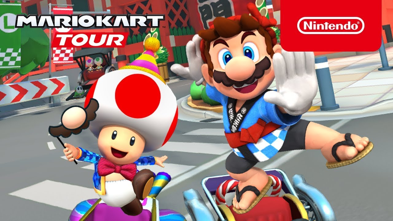 Mario Kart Tour Commences Its New Year S Tour On December 31