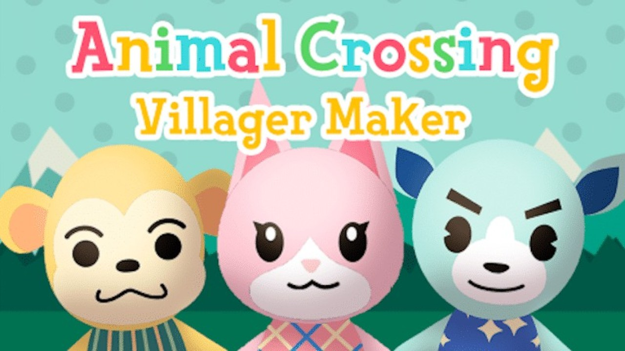 Build Your Own Animal Crossing Villager With This Tool Nintendosoup