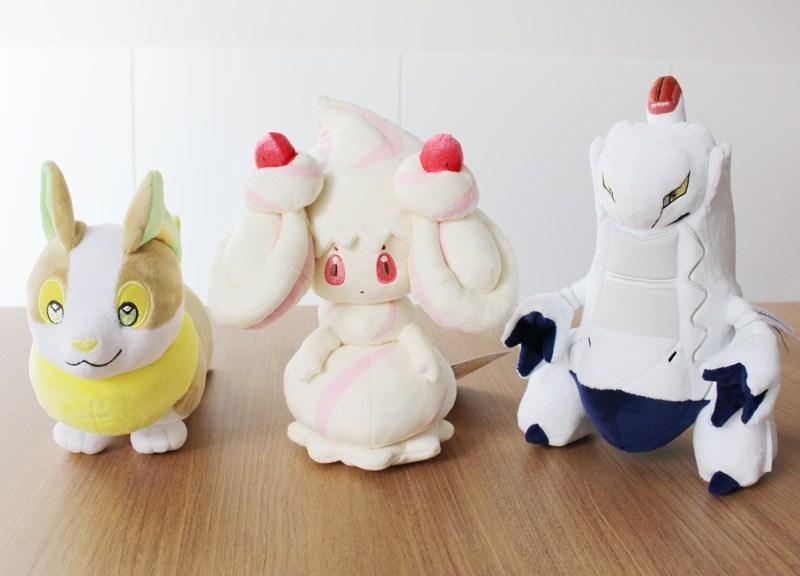 Pokemon Center Original Plush Doll Alcremie G-Max Sword /& Shield NEW from Japan