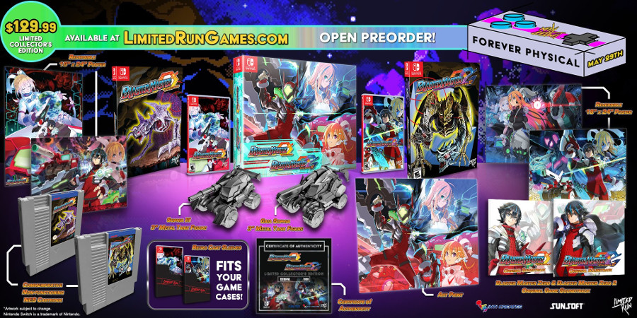 Double-Pack Collector's Edition Also Revealed For Blaster Master Zero And Blaster Master Zero 2 | NintendoSoup