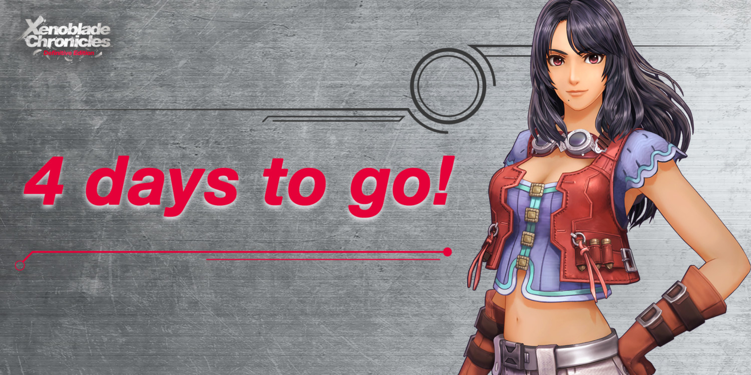Nintendo Shares '4 Days To Go' Countdown For Xenoblade Chronicles: Definitive Edition | NintendoSoup