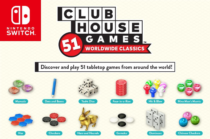 Nintendo Shares Helpful Graphic That Highlights Everything In Clubhouse Games: 51 Worldwide Classics | NintendoSoup