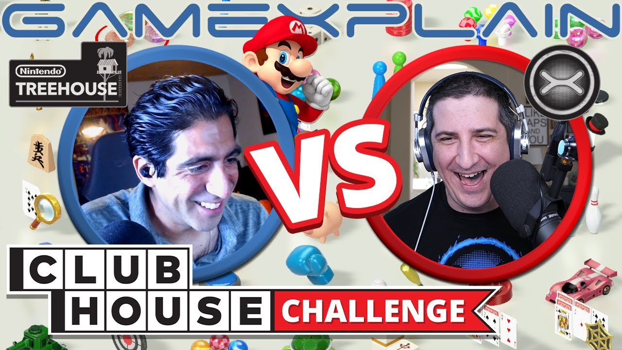 Nintendo Treehouse And Youtube Channel GameXplain Take The Clubhouse Challenge | NintendoSoup