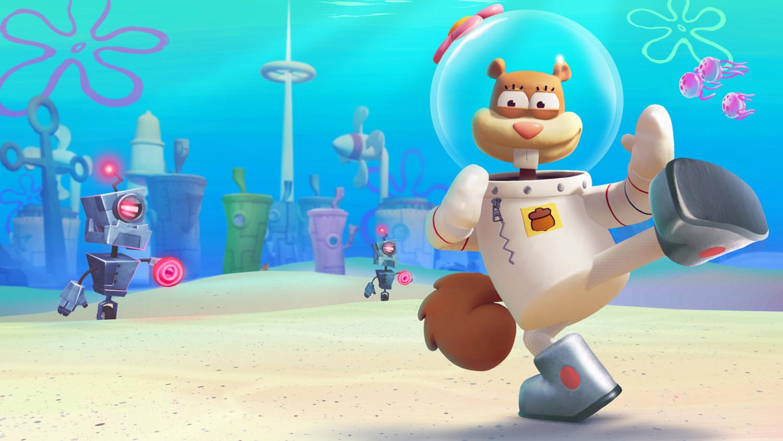 Spongebob Squarepants Battle For Bikini Bottom Rehydrated Sandy Cheeks Trailer Released Nintendosoup