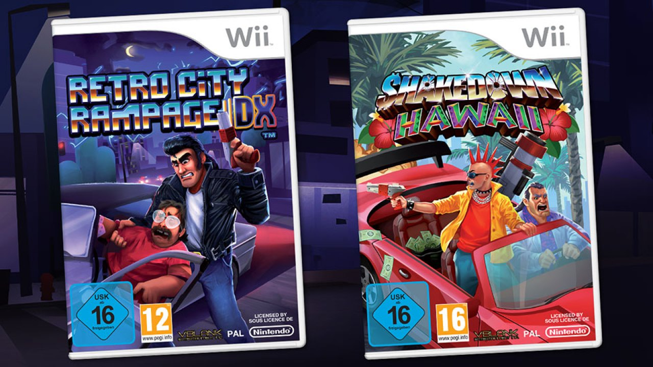 Retro City Rampage Dx Wii Physical Announced New Update Out On