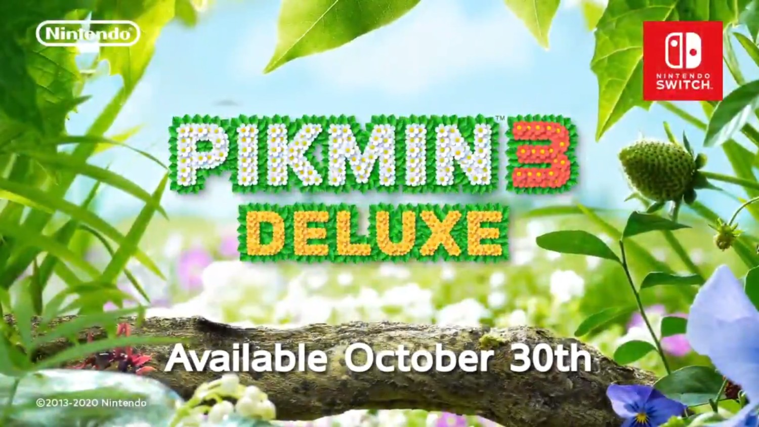 Pikmin 3 Deluxe Announced For Nintendo Switch Launches October 30