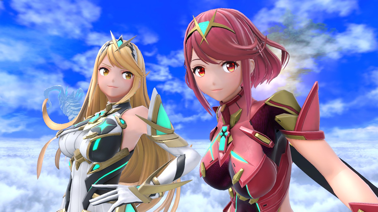 "Pyra/Mythra Were Codenamed ""Eflame/Elight"" In Smash Ultimate | NintendoSoup"