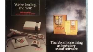 A Look At The Nintendo 1987 - 1988 Retailer Merchandiser Binder