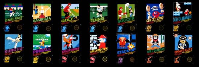 NES Launch Games