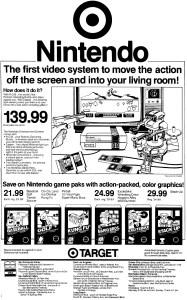 Target Ad - OC Register - 03-13-1986 Credit Frank Cifaldi