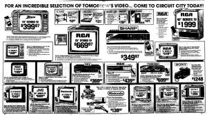 NES Ad - CircuitCity - 08-08-1986 - OC Register - Credit Frank-Cifaldi