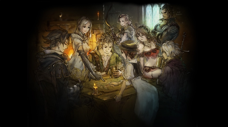 Project Octopath Traveler Teaser Site Opens