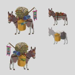 Zelda-Donkey-Art