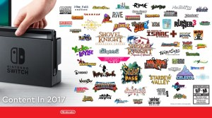 Nintendo Announces Switch Indie Games