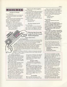 Nintendo Fun Club News - Winter 1987 - Page 5