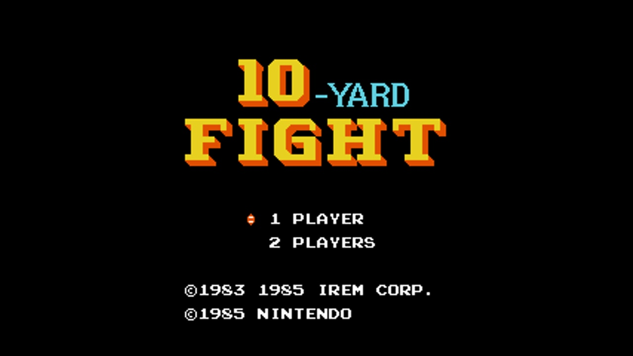 10-Yard Fight (NES) Game Hub