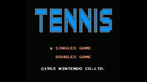 Tennis (NES) Game Hub