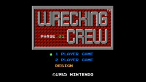 Wrecking Crew (NES) Game Hub