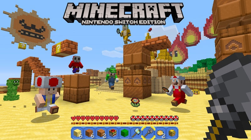 Minecraft: Nintendo Switch Edition Patched To Allow For 1080p