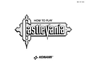 Castlevania Manual